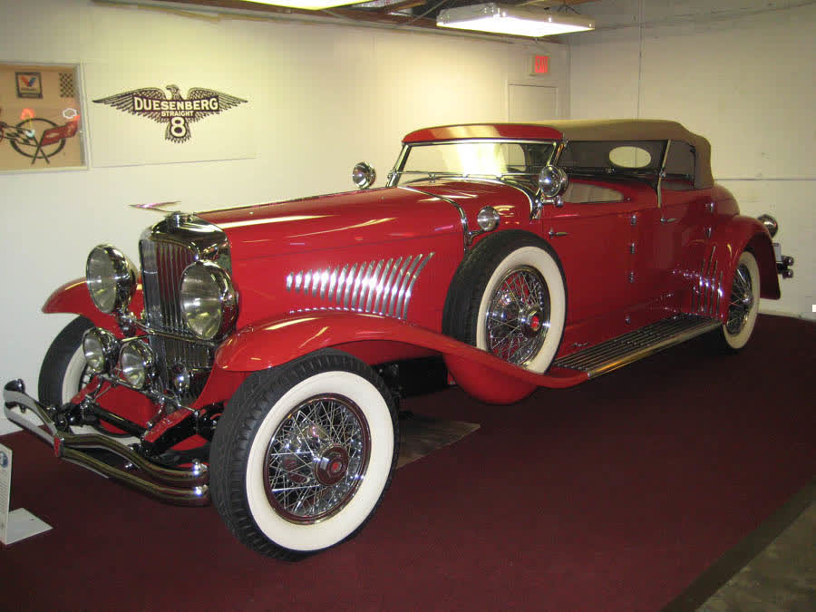 1931 Duesenberg Torpedo Phaeton