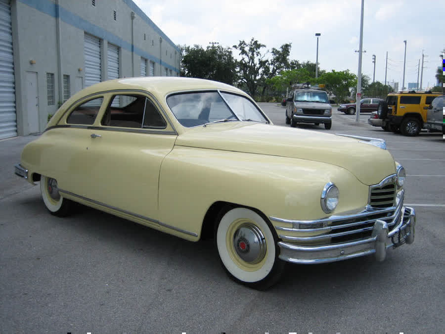 1949 packard de luxe 8 two door coupe