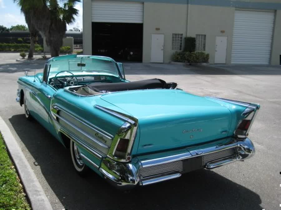 1958 Buick Special Chevy Ford Cadillac Oldsmobile Impala