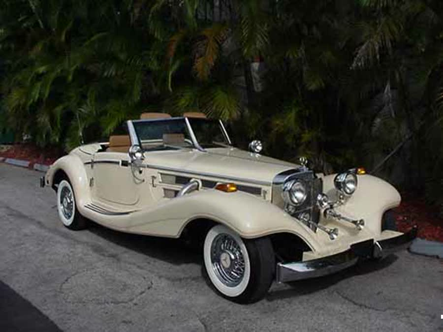 1991 mercedes 500k reproduction by heritage for 1934 mercedes benz 500k heritage replica